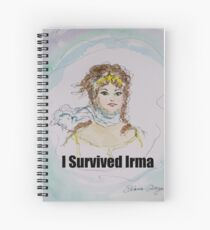 I Survived Irma Spiral Notebook