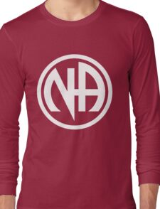 Narcotics Anonymous White Long Sleeve T-Shirt