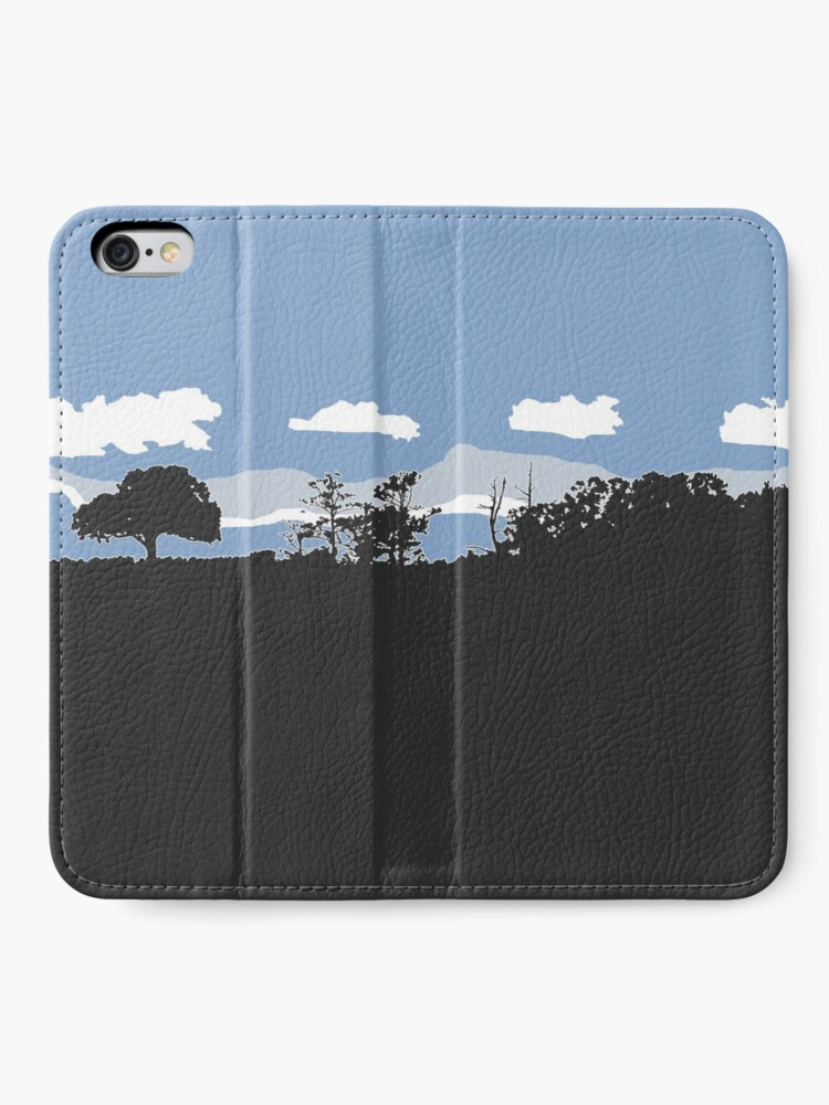 Alternate view of Natural Texas iPhone Wallet