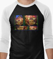 Skull Joker Men's Baseball ¾ T-Shirt