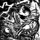 Battle the Kraken by George Webber