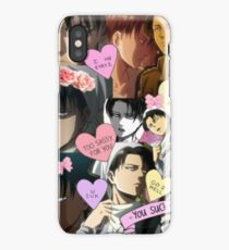 Attack on Titan Levi - Tumblr Style iPhone Case