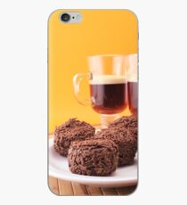 Coffee for two with some delicious truffles iPhone Case