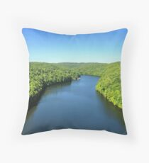 Western Pennsylvania Throw Pillow