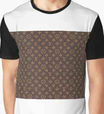 Louis Vuitton Pattern Graphic T-Shirt