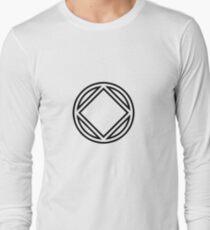 Chunky Symbol Black Long Sleeve T-Shirt