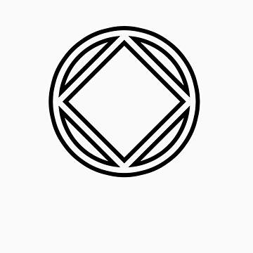 Chunky Symbol Black by narcanon