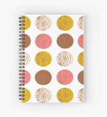 Conchas Spiral Notebook