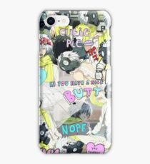 DRAMAtical Murder Clear - Tumblr Style iPhone Case/Skin