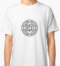 Chunky Symbol and Name Black Classic T-Shirt