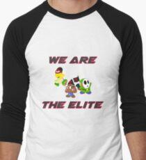 Mario & Luigi Elite Trio Men's Baseball ¾ T-Shirt
