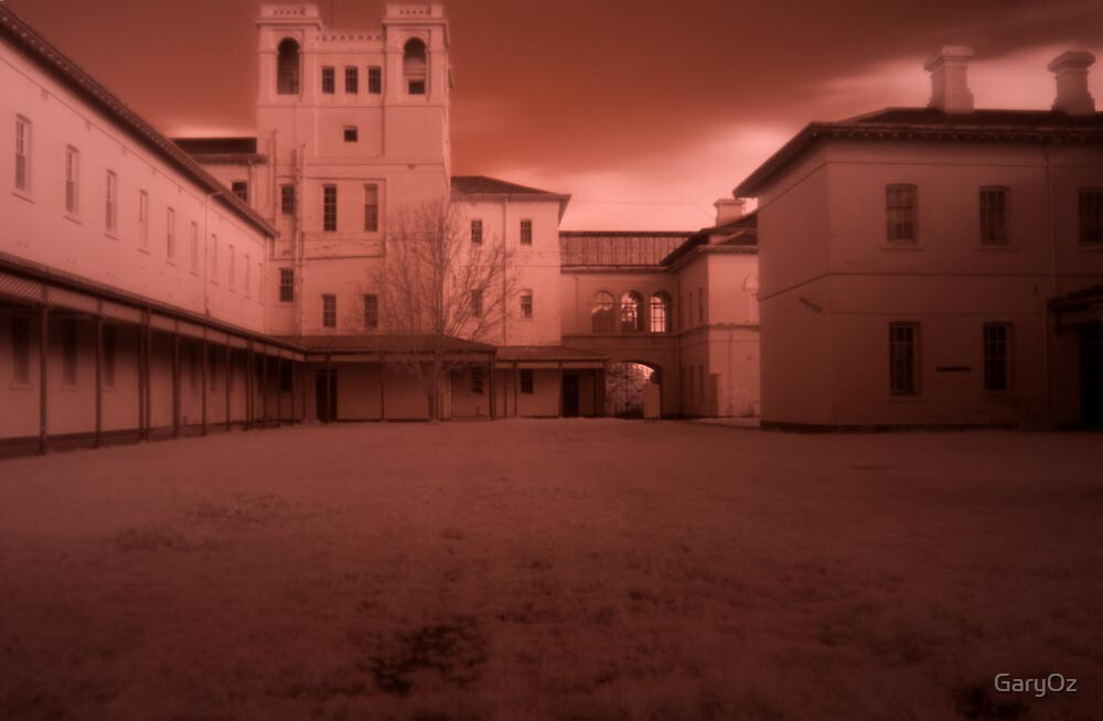 Aradale in infrared by GaryOz