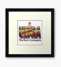 Ultra Street Fighter 2 - The Final Challengers Framed Print