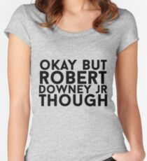 Robert Downey Jr. Women's Fitted Scoop T-Shirt