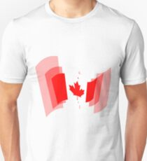 This is a Canadian Symbol with a Red Maple Leaf T-Shirt