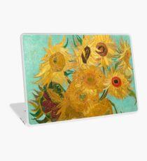 Vase with Twelve Sunflowers by Vincent Van Gogh 1889  Laptop Skin