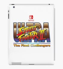Ultra Street Fighter 2 - The Final Challengers iPad Case/Skin