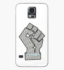"""""""Whatever the hell we want"""" on white background Case/Skin for Samsung Galaxy"""