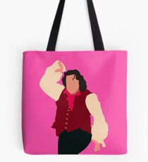 There's no man in town half as manly... Tote Bag