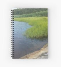 Ocean Coast Dighton, MA Spiral Notebook
