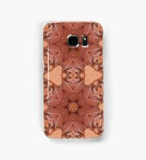 Pink Golden Doily Samsung Galaxy Case/Skin