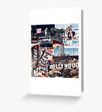 American Dream Collage  Greeting Card