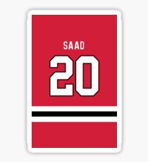 Brandon Saad #20  Sticker
