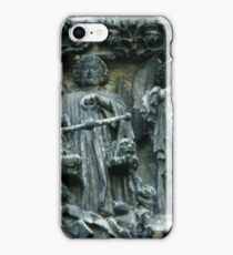 The Judgement Scales, Last Judgement W facade Cathedral Amiens France 19840821 0032  iPhone Case/Skin