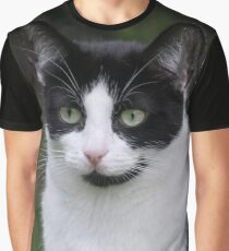 Tusk the Cat Graphic T-Shirt