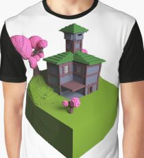 Tavern - Voxel (Day) Graphic T-Shirt