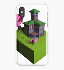 Tavern - Voxel (Day) iPhone Case/Skin