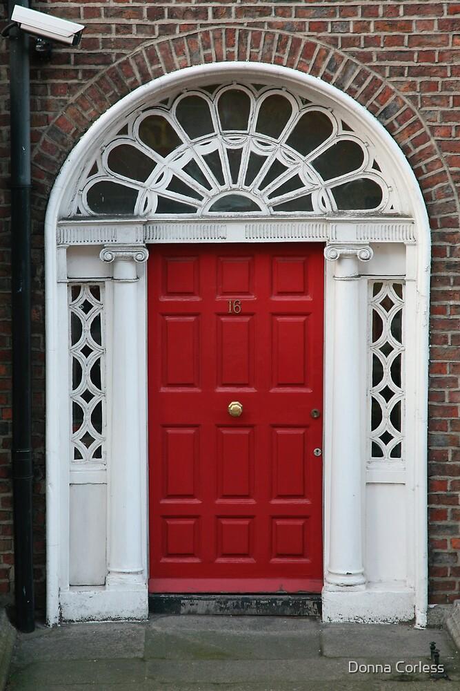 Red Door No. 16 by Donna Corless