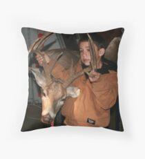 Jerky Throw Pillow
