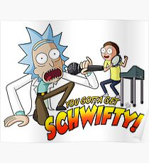 Rick and Morty: Get Schwifty Poster