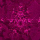 Starlike Fushia Pattern by CarolM