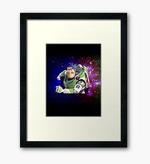Buzz Dimensions Framed Print