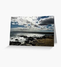 A sky full of clouds  Greeting Card
