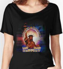 Golden purple Women's Relaxed Fit T-Shirt