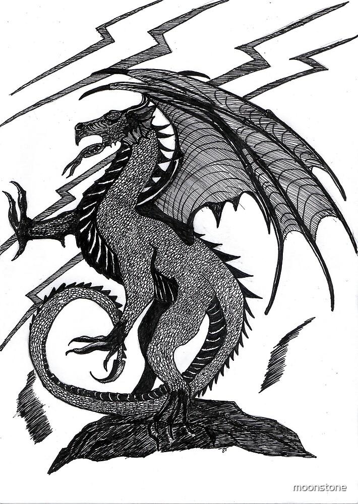 Black Dragon by moonstone