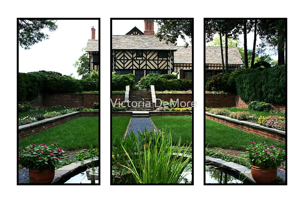 Sunken Garden Panels by Victoria DeMore