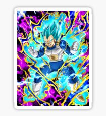 Dragon Ball Vegeta Super Sayan God Sticker