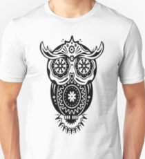 Owl in the style of Sugar Skulls T-Shirt