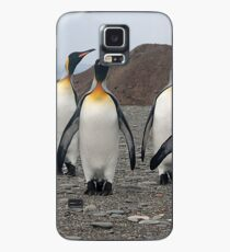 King Penguins on Parade Case/Skin for Samsung Galaxy