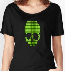 SKULL PIXELS Women's Relaxed Fit T-Shirt