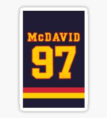 Connor McDavid Erie Otters #97 Sticker