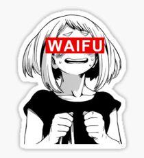 Ochaco Uraraka Waifu - Anime Sticker