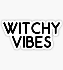 witchy vibes Sticker