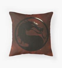 Mortal Kombat Trilogy  Throw Pillow