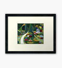 Formal Gardens Framed Print