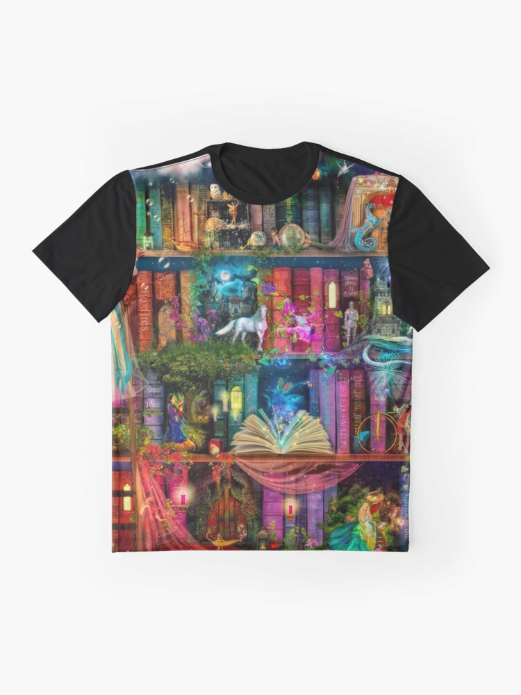 Alternate view of Whimsy Trove - Treasure Hunt Graphic T-Shirt
